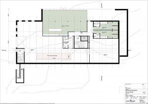 Nytt kontorbygg - Plan U. etasje
