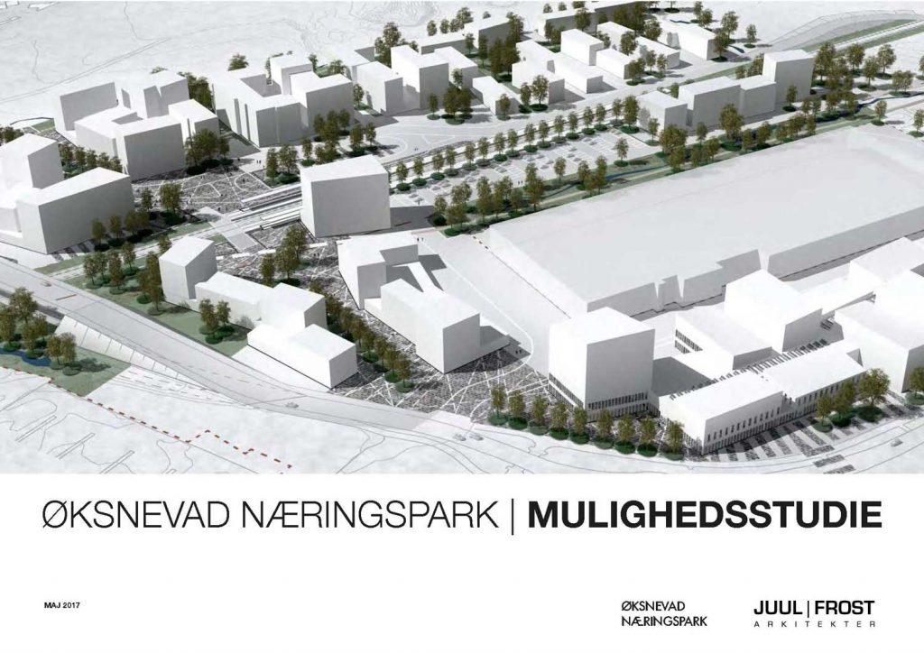 Mulighetsstudie Øksnevad Næringspark - forside